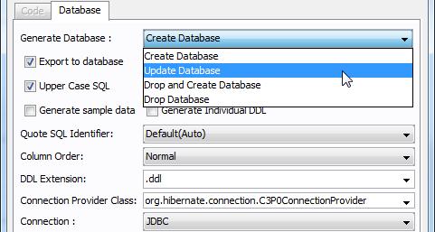 Generate script to update Oracle database schema