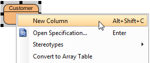 Add column in entity