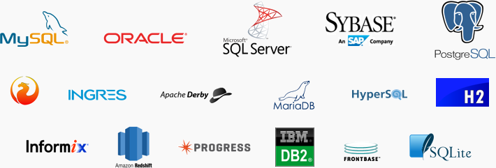 Wide Range of DBMS Support