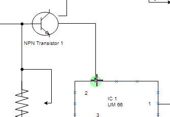 Easy to edit circuit diagram