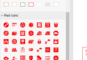 Full set of Oracle cloud symbols