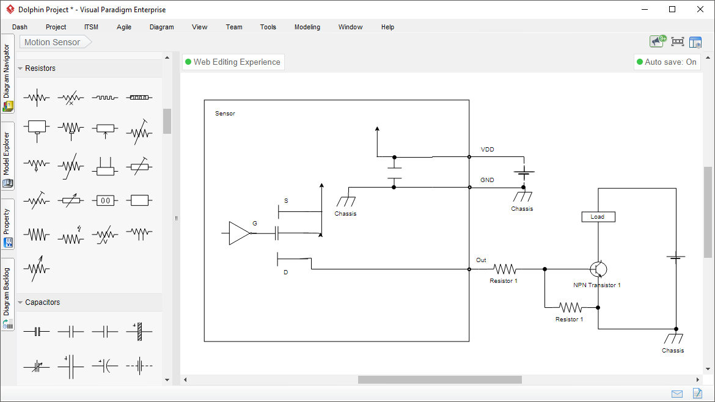 [SCHEMATICS_48IU]  Wiring Diagram Software | Wiring Diagram Programs |  | Visual Paradigm
