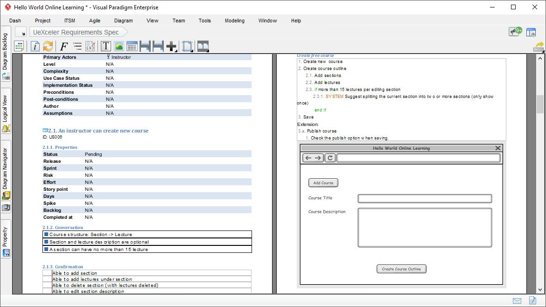 Ad-hoc document development with Doc. Composer