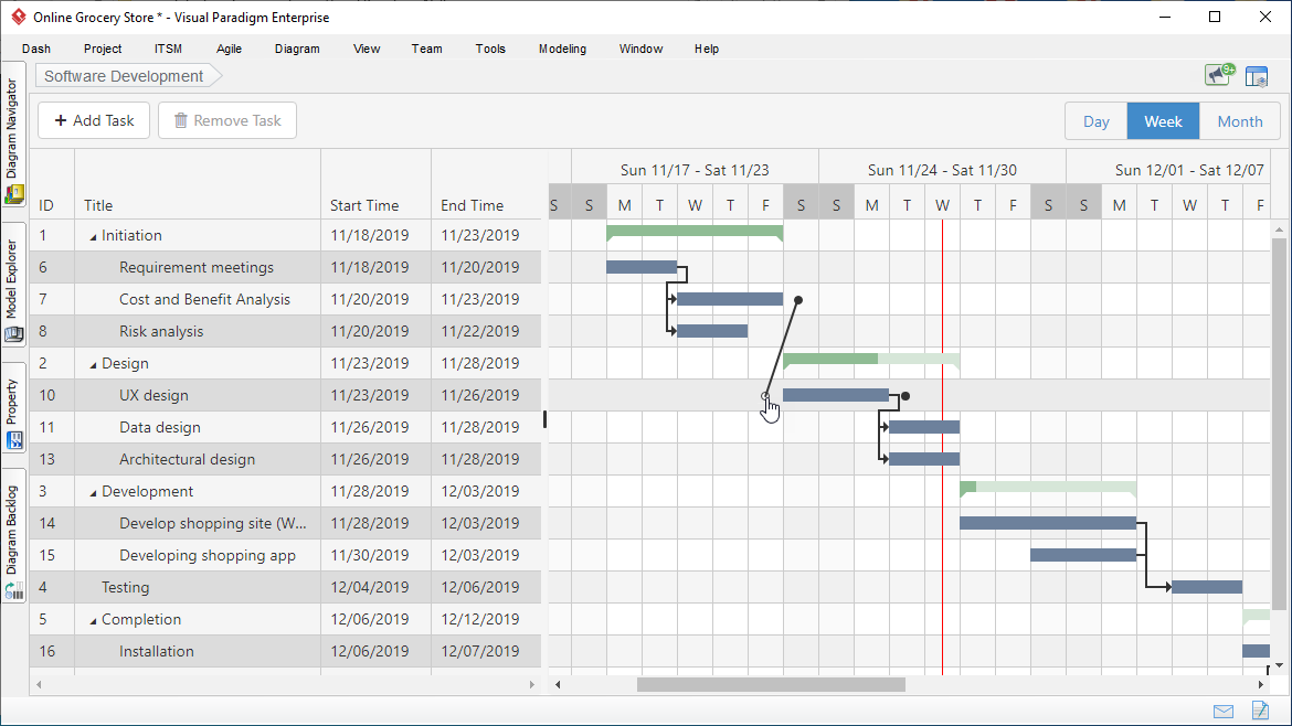 Easy To Use Gantt Chart Tool