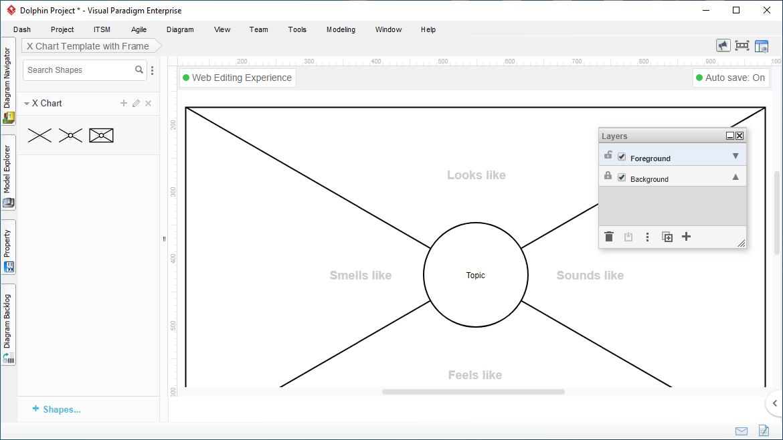 X Chart Tool