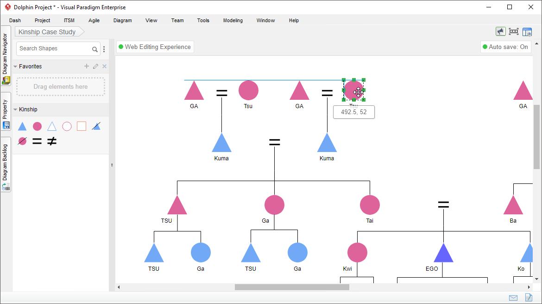 Kinship Diagram Maker