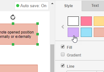 Number of formatting options
