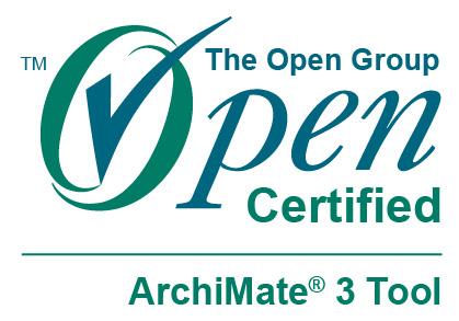 ArchiMate 3 certification logo