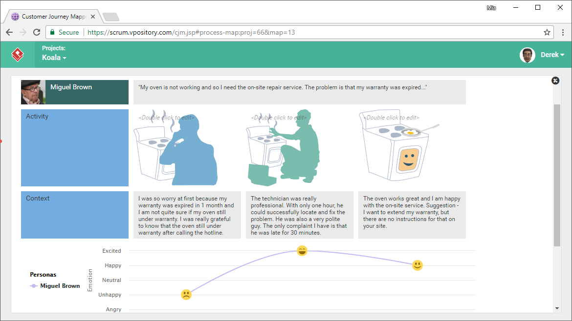 Use Images in Customer Journey Maps