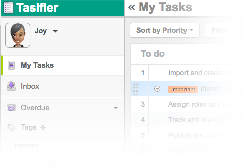 Task & Project Management System