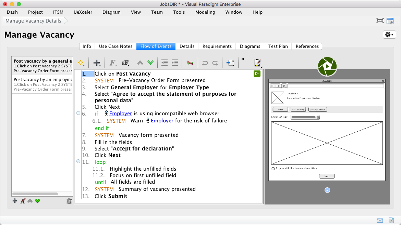 Professional UML Tool for Mac