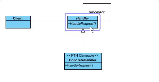 select handler