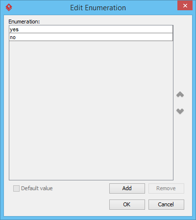 Add enumeration values