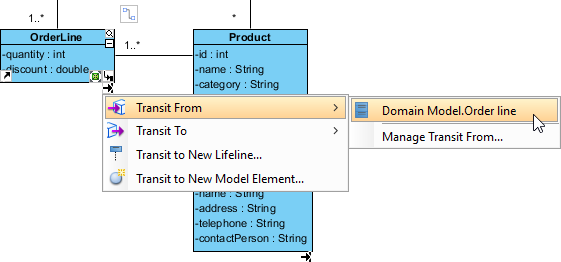 Using Model Transitor