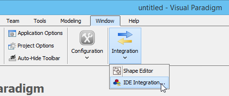 To instasll IDE Integration