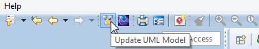 Update UML model