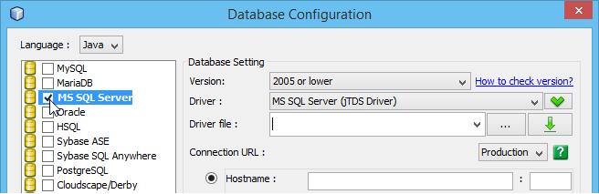 Select MS SQL Server