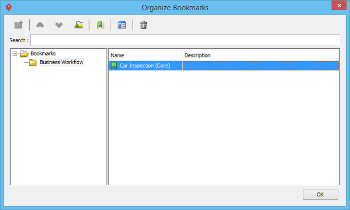 organize bookmarks
