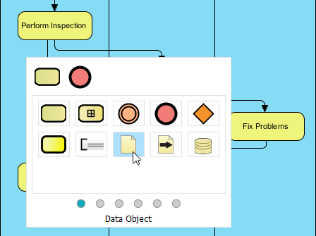 Selecting Data Object
