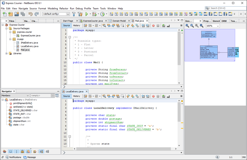 How to Generate Java from UML Class Diagram in NetBeans?