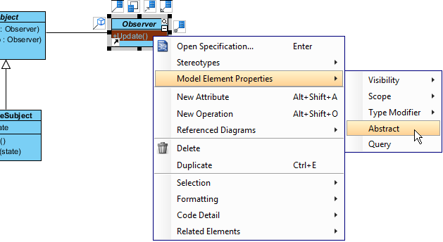 set update oper abstract