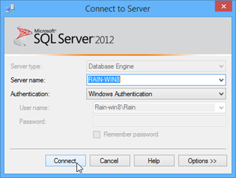 01 connect to sql server