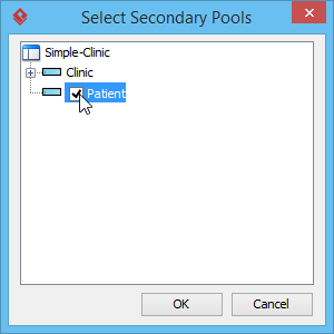 Select secondary pools