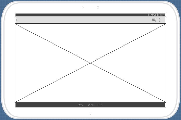 create image wireframe widget