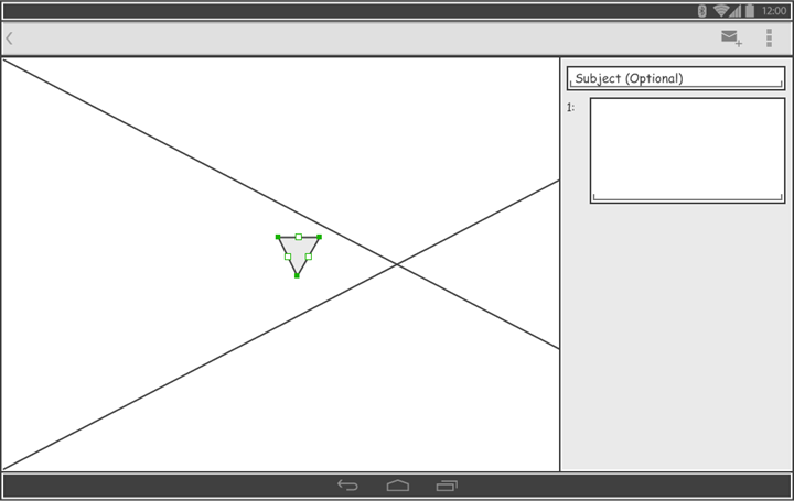 created polygon