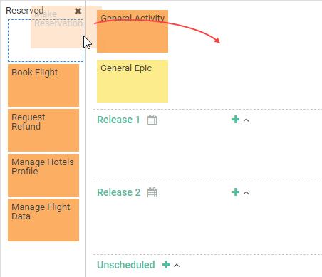 Create backbone in user story map
