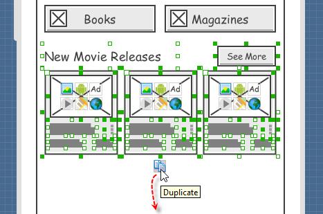 duplicate elements