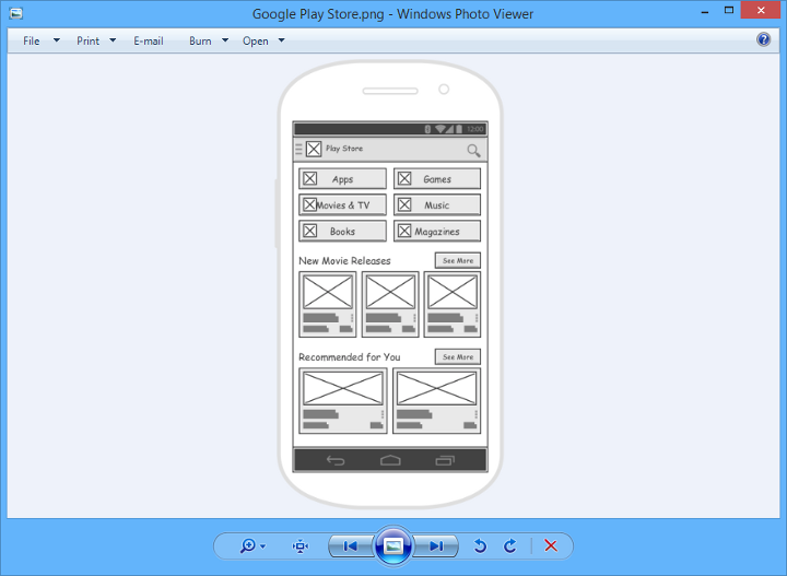wireframe in png