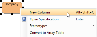 creating new column in entity