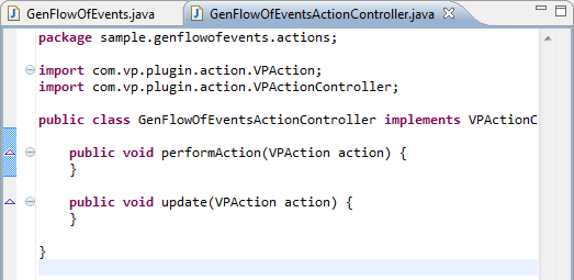 action controller created