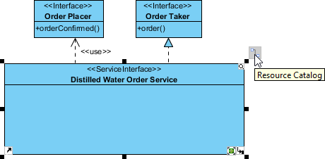create new role in service interface