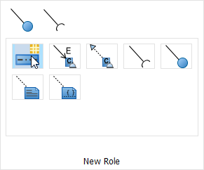 select new role in resource catalog