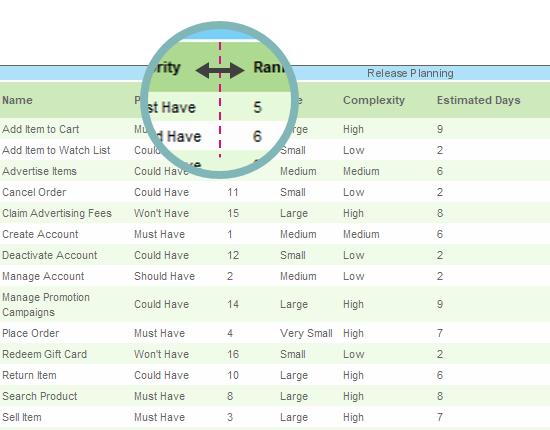 ETL Table column width adjustment